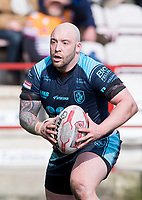 Picture by Allan McKenzie/SWpix.com - 25/03/2018 - Rugby League - Betfred Championship - Batley Bulldogs v Featherstone Rovers - Heritage Road, Batley, England - John Davies.