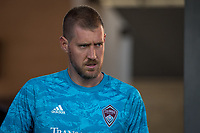 SAN JOSÉ CA - JULY 27: Clint Irwin #31 during a Major League Soccer (MLS) match between the San Jose Earthquakes and the Colorado Rapids on July 27, 2019 at Avaya Stadium in San José, California.