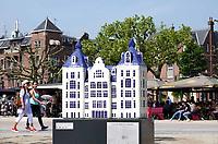 Nederland - Amsterdam - 2018.  Canal House Parade op het Museumplein. Gebouwen in het klein. Op deze foto het Tropenmuseum.  Foto Berlinda van Dam / Hollandse Hoogte.
