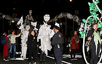 www.acepixs.com<br /> <br /> October 31 2017, New York City<br /> <br /> Particpants in costume during the annual Halloween Parade on October 31 2017 in New York City<br /> <br /> By Line: Nancy Rivera/ACE Pictures<br /> <br /> <br /> ACE Pictures Inc<br /> Tel: 6467670430<br /> Email: info@acepixs.com<br /> www.acepixs.com