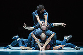 London, UK. 27 October 2016. Sadler's Wells Associate Artist Sidi Larbi Cherkaoui returns to perform on stage at Sadler's Wells with Fractus V, a production from his company Eastman. It features an all-male cast of performers - Sidi Larbi Cherkaoui, Dimitri Jourde, Johnny M. Lloyd, Patrick William Seebacher (2 Face) and Fabien Thome. The work was originally created to mark the 40th anniversary of Tanztheater Wuppertal Pina Bausch. Performances at Sadler's Wells on 27 and 28 October.