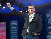United States Senator Ted Cruz (Republican of Texas), a candidate for the Republican Party nomination for President of the United States, speaks at the Conservative Political Action Conference (CPAC) at the Gaylord National Resort and Convention Center in National Harbor, Maryland on Friday, March 4, 2016.<br /> Credit: Ron Sachs / CNP