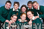 Childline support: First year students at Causeway Comprehensive who supported the Cheerios Breakfast Week in aid of Childline this week. Front l-r Niamh Carlin, Louise O'Flaherty and Michelle Gilbert. Back l-r Cian Dowling, Neil Beirne, Michaela Lacey, Patrick Buckley and Adam Fitzgerald.   Copyright Kerry's Eye 2008