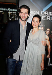 "HOLLYWOOD, CA. - April 28: David Benioff and Amanda Peet arrive at ""X-Men Origins: Wolverine"" Los Angeles Industry Screening at Grauman's Chinese Theatre on April 28, 2009 in Los Angeles, California."