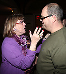 """Phyllis Newman & Brad Oscar at the Final Performance After Party for the ENCORES! Production of  """"Bells Are Ringing"""" in New York City."""