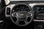 Car pictures of steering wheel view of a 2019 Chevrolet Colorado WT 4 Door Pick-up Steering Wheel