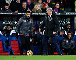 Crystal Palace's Roy Hodgson in action during the premier league match at Selhurst Park Stadium, London. Picture date 12th December 2017. Picture credit should read: David Klein/Sportimage