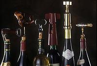 Viticulture générale: Bouteilles et Tire-Bouchons