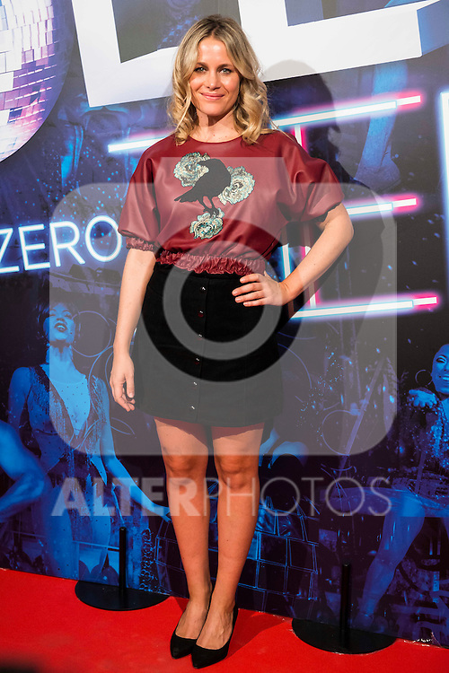 Lisi Linder attends to the premiere of the The Hole Zero Show at Teatro Calderon in Madrid. October 04, 2016. (ALTERPHOTOS/Borja B.Hojas)