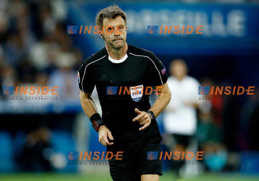 The referee Nicola Rizzoli<br /> Marseille 07-07-2016 Stade Velodrome Football Euro2016 Germany - France / Germania - Francia Semi-finals / Semifinali <br /> Foto Matteo Ciambelli / Insidefoto