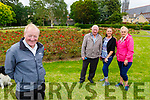 Relaxing in the Tralee Town Park on Sunday.<br /> Front left: Michael O'Connor.<br /> Back l to r: Theresa Quiligan, Kathleen O'Neill and John Quilligan