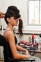 Working Backstage Fashion Week Brooklyn Fall 2014
