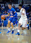March 4, 2017:  Air Force forward, Hayden Graham #35,  in action during the NCAA basketball game between the Boise State Broncos and the Air Force Academy Falcons, Clune Arena, U.S. Air Force Academy, Colorado Springs, Colorado.  Boise State defeats Air Force 98-70.