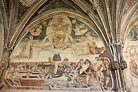 Europe/Europe/France/Midi-Pyrénées/46/Lot/Cahors: Cathédrale Saint-Etienne - Chapelle St-Gaubert - Peintures XVIème
