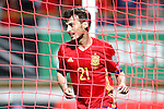 Spain's David Silva celebrates goal during FIFA World Cup 2018 Qualifying Round match. September 5,2016.(ALTERPHOTOS/Acero)