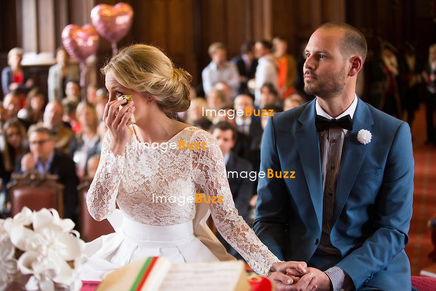 Top Mariage civil de Julie Taton et Harold Van Der Straten, à l'hôtel  YW39