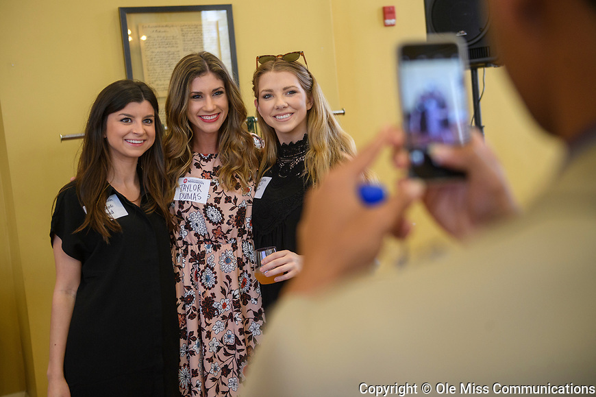 2017 Luckyday Senior Reception. Photo by Thomas Graning/Ole Miss Communications