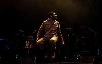 SAO PAULO, SP - 24.06.2017 - SHOW-SP - Show do cantor Criolo na noite deste s&aacute;bado (24) no Citibank Hall, zona sul da cidade de S&atilde;o Paulo.<br /> <br /> (Foto: Fabricio Bomjardim/Brazil Photo Press)