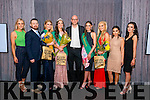 Contestants, Judges and Organisers of Miss Kerry 2016.<br /> L-R Christine Kearney (organiser), David Kelleher (organiser), Blathin Griffin (1st runner up), Niamh Enright (newly crowned Miss Kerry 2016), Pawel Nowak (judge/ photographer), Maired Breathnach (judge/ Miss Kerry 2015), Shannon Lonergan (2nd runner up), Aideen Feely (judge/ blogger) and Ellen O'Shea (organiser/ model).