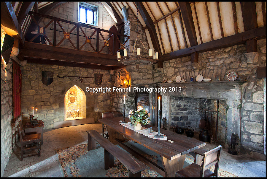 BNPS.co.uk (01202) 558833<br /> Picture: FennellPhotography/BNPS<br /> <br /> ****Please use full byline****<br /> <br /> Yours for £5.5 million - A Downton Abbey of your own...<br /> <br /> Even has a medieval hall for feasting.<br /> <br /> Lover's of the hit tv series now have the chance to buy into the lifestyle of the Grantham's, after this very similar looking property has come on the market in the heart of Ireland.<br /> <br /> Stunning Tulira Castle, Co Galway, dates back to the medieval times has emerged for sale for £5.5 million.<br /> <br /> The enormous castle sits in 250 acres of rolling countryside in the village of Ardrahan in County Galway, Ireland and is so idyllic it has been home to the same family for the last two decades.<br /> <br /> It is currently owned by Ruud and Femmy Bolmeijer who are looking to downsize.