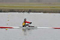 085 Guildford RC 1x..Marlow Regatta Committee Thames Valley Trial Head. 1900m at Dorney Lake/Eton College Rowing Centre, Dorney, Buckinghamshire. Sunday 29 January 2012. Run over three divisions.