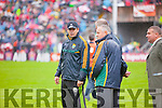 Eamonn Fitzmaurice Kerry Manager at the Munster Final at Fitzgerald Stadium, Killarney on Saturday evening.