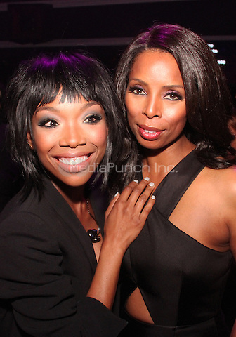 HOLLYWOOD, CA - FEBRUARY 5, 2015<br /> <br /> Brandy &amp; Tasha Smith attend the &quot;Essence Black Women In Music&quot; event at Avalon Hollywood, February 5, 2015 in Hollywood, California.<br /> <br /> <br /> Walik Goshorn / MediaPunch