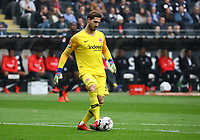 Torwart Kevin Trapp (Eintracht Frankfurt) - 31.03.2019: Eintracht Frankfurt vs. VfB Stuttgart, Commerzbank Arena, DISCLAIMER: DFL regulations prohibit any use of photographs as image sequences and/or quasi-video.