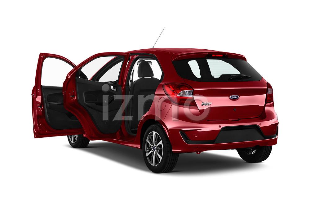 Car images close up view of a 2019 Ford Ka+ Ultimate 5 Door Hatchback doors