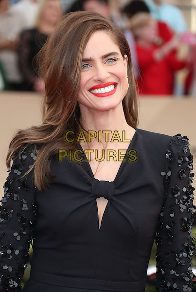 29 January 2017 - Los Angeles, California - Amanda Peet. 23rd Annual Screen Actors Guild Awards held at The Shrine Expo Hall. <br /> CAP/ADM/FS<br /> &copy;FS/ADM/Capital Pictures