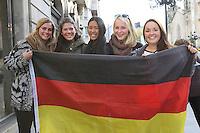 17.11.2014: Teamankunft Deutschland in Vigo