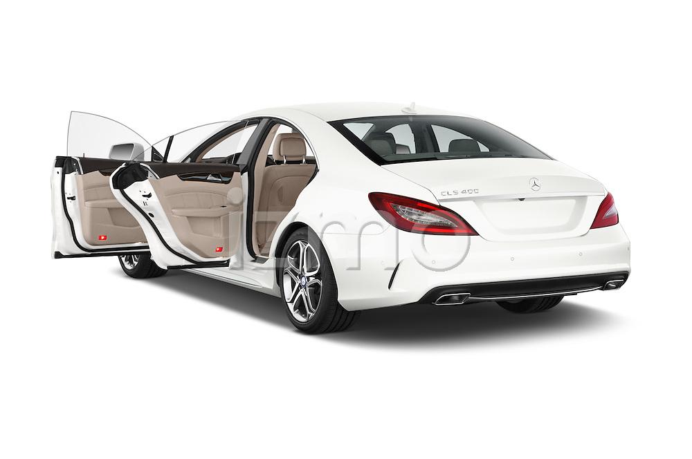 Car images of a 2015 Mercedes Benz CLS-Class CLS400 2 Door Coupe Doors