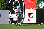 Alejandro Canizares tees off on the 9th tee during Day 1 of the Dubai World Championship, Earth Course, Jumeirah Golf Estates, Dubai, 25th November 2010..(Picture Eoin Clarke/www.golffile.ie)