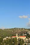 Israel, Jerusalem, the Church of St. John the Baptist in Ein Karem