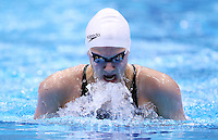 PICTURE BY VAUGHN RIDLEY/SWPIX.COM - Swimming - British Swimming Championships 2012 (Olympic Selection Trials) - Aquatics Centre, Olympic Park, London, England - 03/03/12 - Aimee Willmott competes in the Women's 400m Individual Medley Heats.