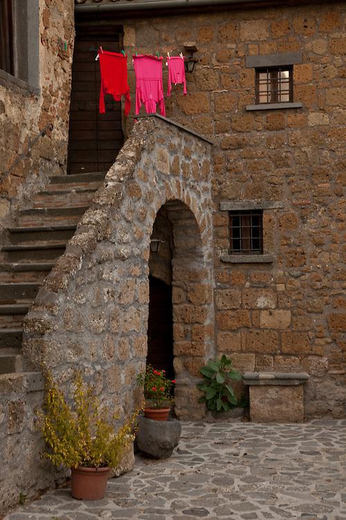 hilltown of Civita di Bagnoregio, central Italy