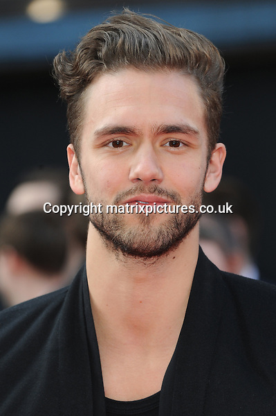 NON EXCLUSIVE PICTURE: PAUL TREADWAY / MATRIXPICTURES.CO.UK.PLEASE CREDIT ALL USES..WORLD RIGHTS..Andy Brown of British pop group Lawson attending the European premiere of The Hangover Part 3, at the Empire Cinema in Leicester Square, London...MAY 22nd 2013..REF: PTY 133458