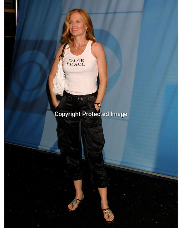 ©2003 KATHY HUTCHINS  / HUTCHINS PHOTO AGENCY.CBS Television Critics Tour Summer 2003 Party.Hollywood & Highland .Lucky Strike Bowling Alley.Hollywood, CA.July 20, 2003..MARG HELGENBERGER