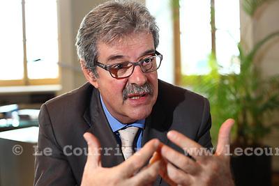Genève, le 05.11.2009.Pierre-François Unger, conseiller d'état..© Le Courrier / J.-P. Di Silvestro
