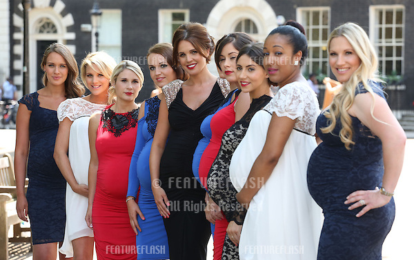 Danielle O'Hara (Danielle Lloyd) launches her maternity range<br /> London. 09/07/2013 Picture by: Henry Harris / Featureflash