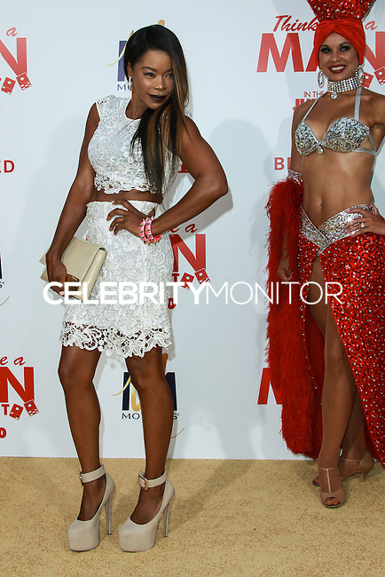 HOLLYWOOD, LOS ANGELES, CA, USA - JUNE 09: Golden Brooks at the Los Angeles Premiere Of Screen Gems' 'Think Like A Man Too' held at the TCL Chinese Theatre on June 9, 2014 in Hollywood, Los Angeles, California, United States. (Photo by David Acosta/Celebrity Monitor)
