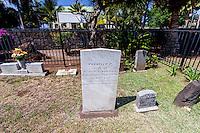 Mokuaikaua Church Cemetery, Kailua-Kona, Big Island.