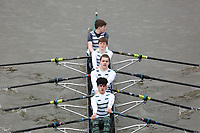 Crew: 137   Staines Boat Club   Op J16 4x-<br /> <br /> Schools' Head of the River 2018<br /> <br /> To purchase this photo, or to see pricing information for Prints and Downloads, click the blue 'Add to Cart' button at the top-right of the page.