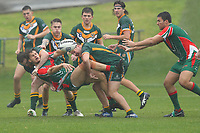 The Wyong Roos play West Rosellas in Round 2 of the Under 19's Newcastle Rugby League Competition at Morry Breen Oval on 26th of July, 2020 in Kanwal, NSW Australia. (Photo by Paul Barkley/LookPro)