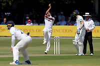 Muhammad Amir in bowling action for Essex during Essex CCC vs Middlesex CCC, Specsavers County Championship Division 1 Cricket at The Cloudfm County Ground on 26th June 2017