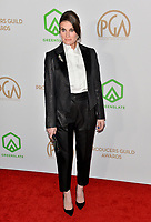 SANTA MONICA, USA. January 18, 2020: Idina Menzel at the 2020 Producers Guild Awards at the Hollywood Palladium.<br /> Picture: Paul Smith/Featureflash