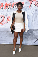 Clara Amfo arriving for the Serpentine Summer Party 2018, Hyde Park, London, UK. <br /> 19 June  2018<br /> Picture: Steve Vas/Featureflash/SilverHub 0208 004 5359 sales@silverhubmedia.com