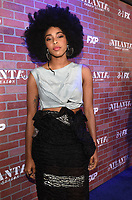 """LOS ANGELES - FEBRUARY 19: Jessica Williams arrives at the red carpet event for FX's """"Atlanta Robbin' Season"""" at the Ace Theatre on February 19, 2018 in Los Angeles, California.(Photo by Frank Micelotta/FX/PictureGroup)"""