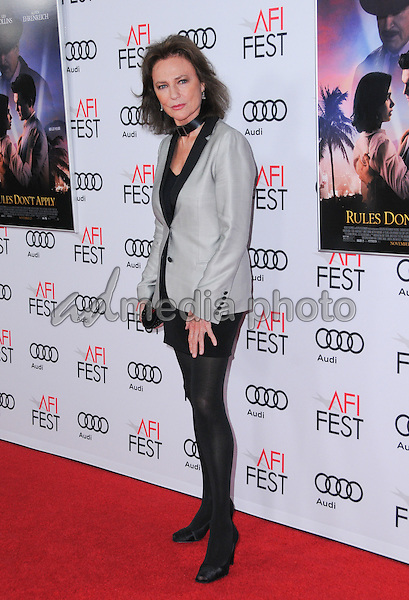 "10 November 2016 - Hollywood, California. Jacqueline Bisset. AFI FEST 2016 - Opening Night Premiere Of ""Rules Don't Apply"" held at TCL Chinese Theater. Photo Credit: Birdie Thompson/AdMedia"