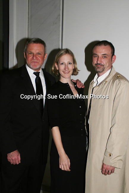 Ritchie Coster and Jan Conklin (prodcer GL) came backstage to see Ron Raines perform Jerry Herman's Broadway with the National Symphony Orchestra at The John F. Kennedy Center for Performing Arts on March 14, 2009, in Washington D.C. (Photo by Sue Coflin/Max Photos)